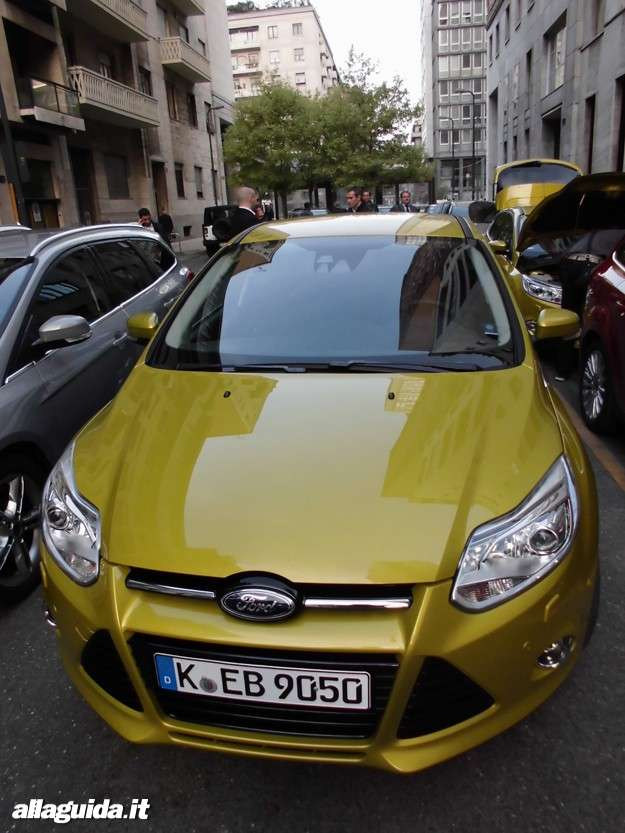 Ford Focus ECOnetic, vista frontale