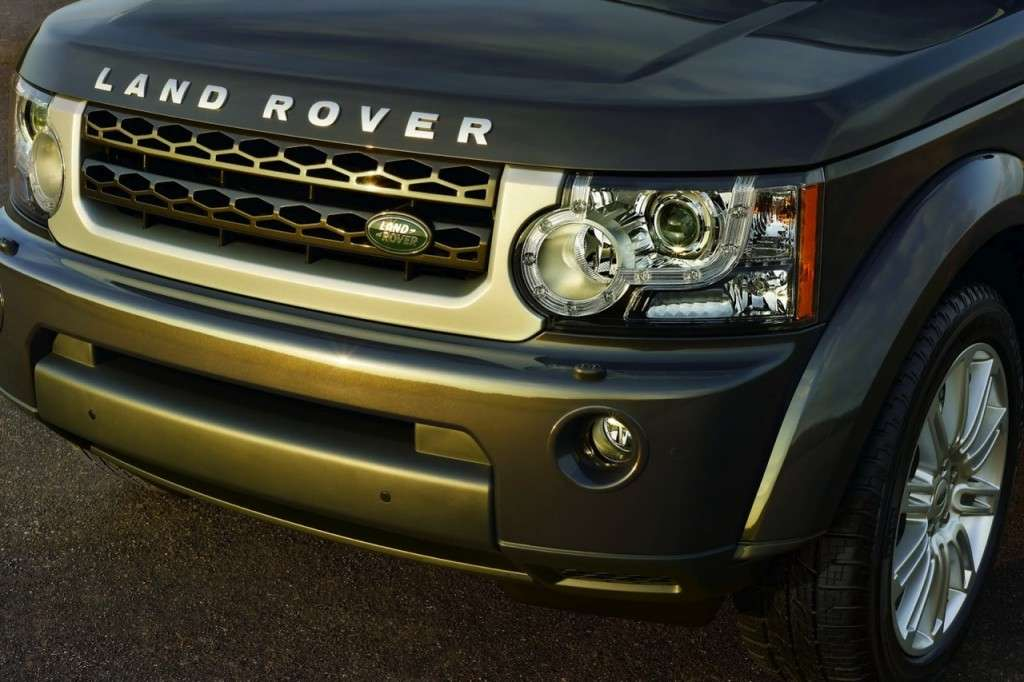 Land Rover Discovery Limited Edition particolare del muso