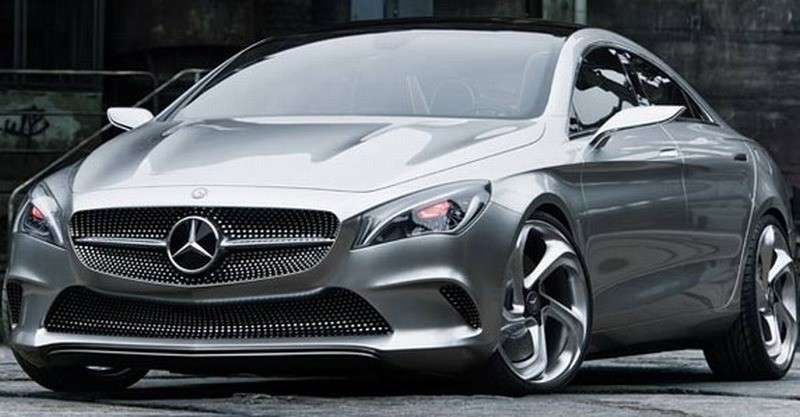 Mercedes Concept Style Coupe - frontale