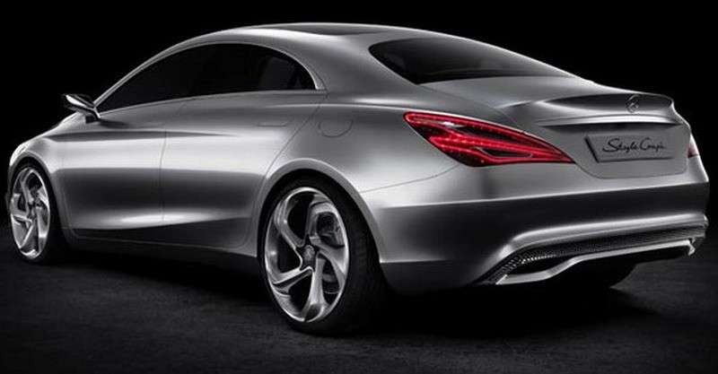 Mercedes Concept Style Coupe - posteriore