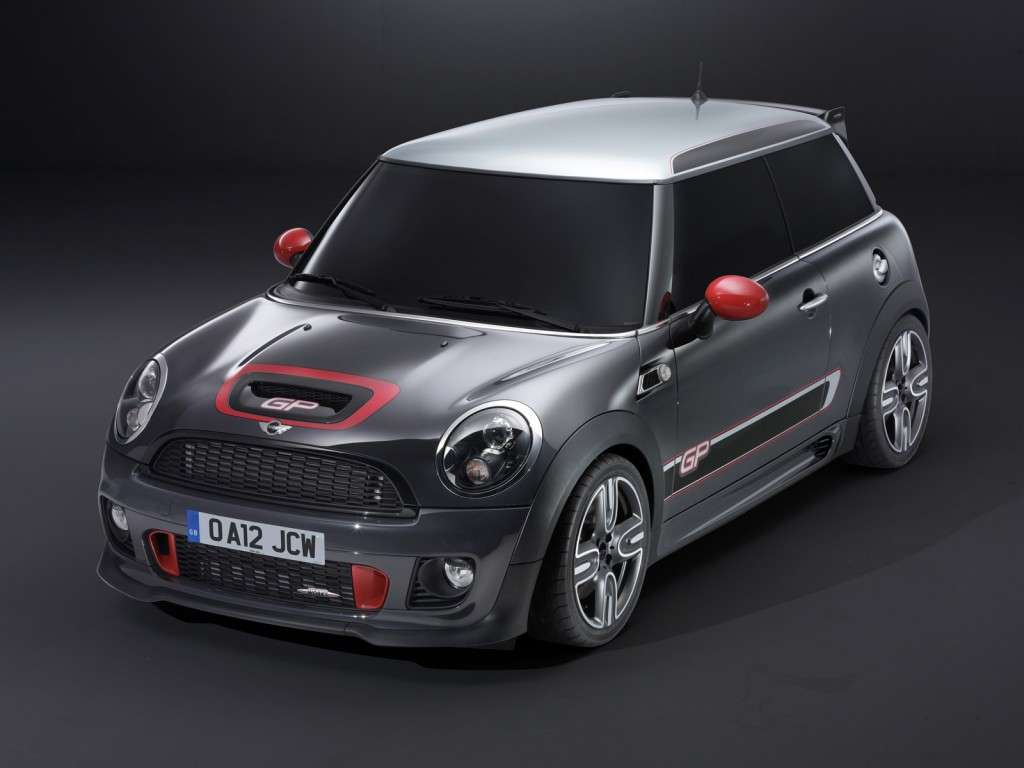 Mini John Cooper Works Gp, anteriore