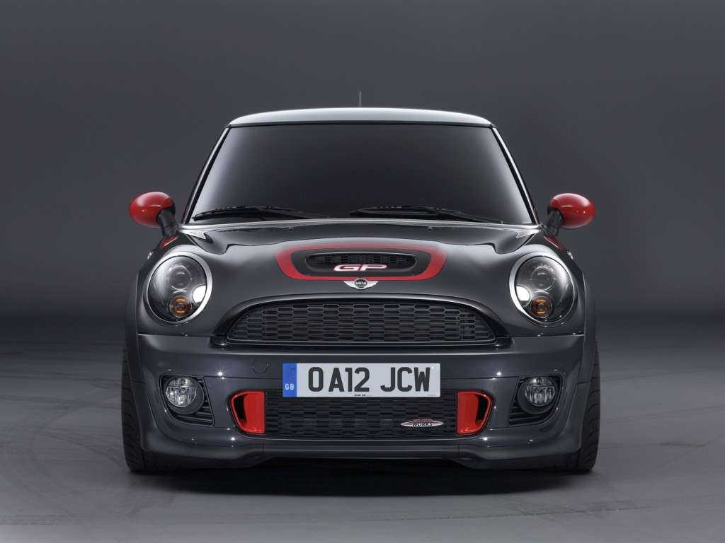 Mini John Cooper Works Gp, frontale