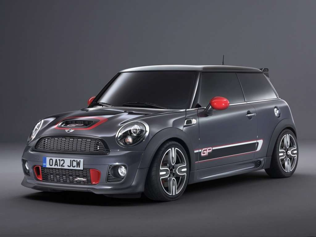 Mini John Cooper Works Gp, tre quarti anteriore