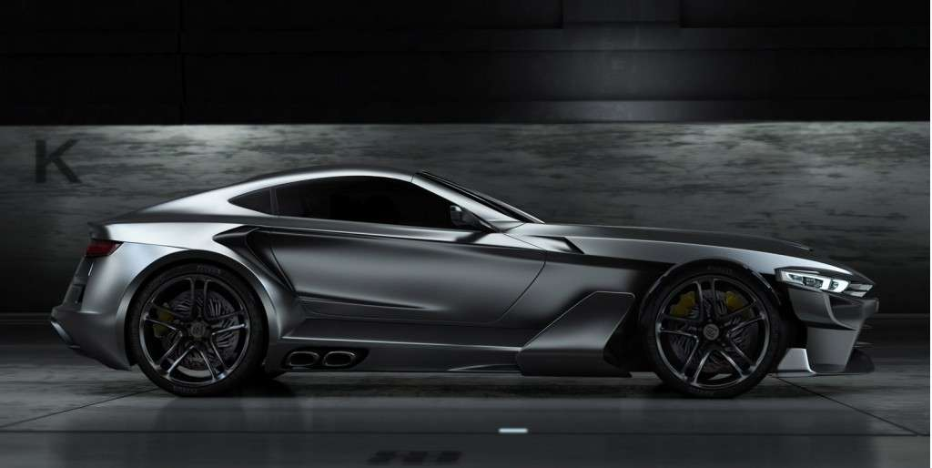 Aspid GT-21 Invictus - laterale