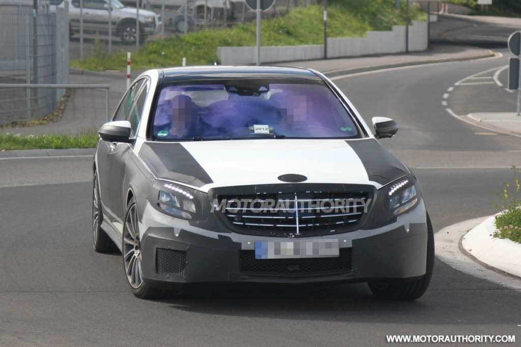 Mercedes Classe S 2013 AMG frontale