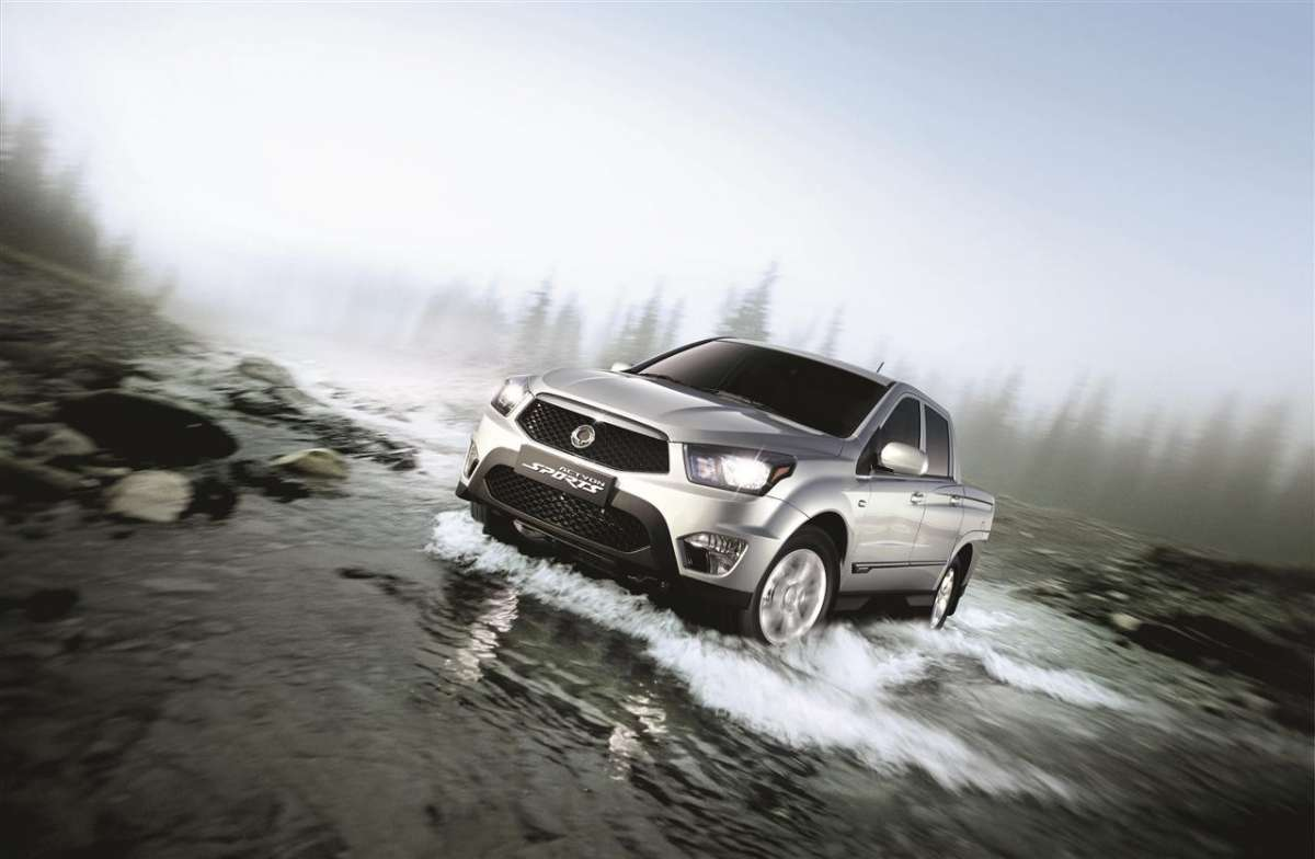 SsangYong Actyon Sports 2012 frontale