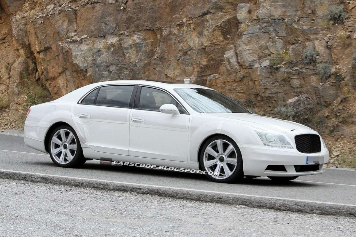 Bentley Continental Flying Spur 2014 prototipo