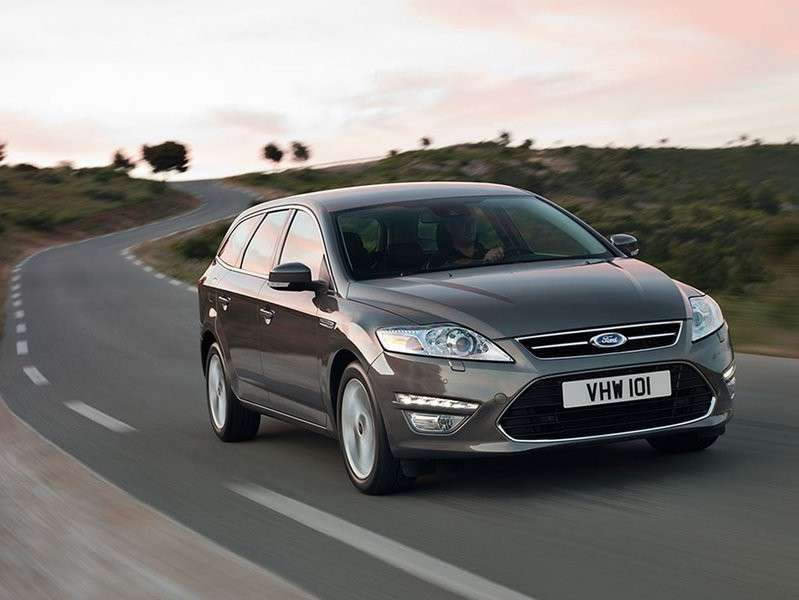 Ford Mondeo SW business frontale