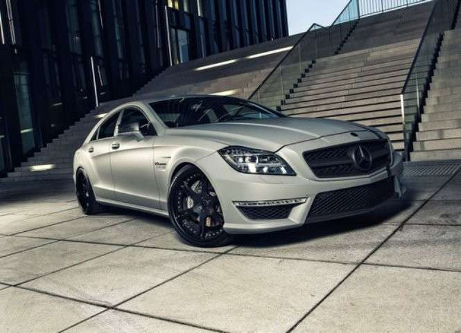 Mercedes CLS 63 AMG by Wheelsandmore laterale anteriore
