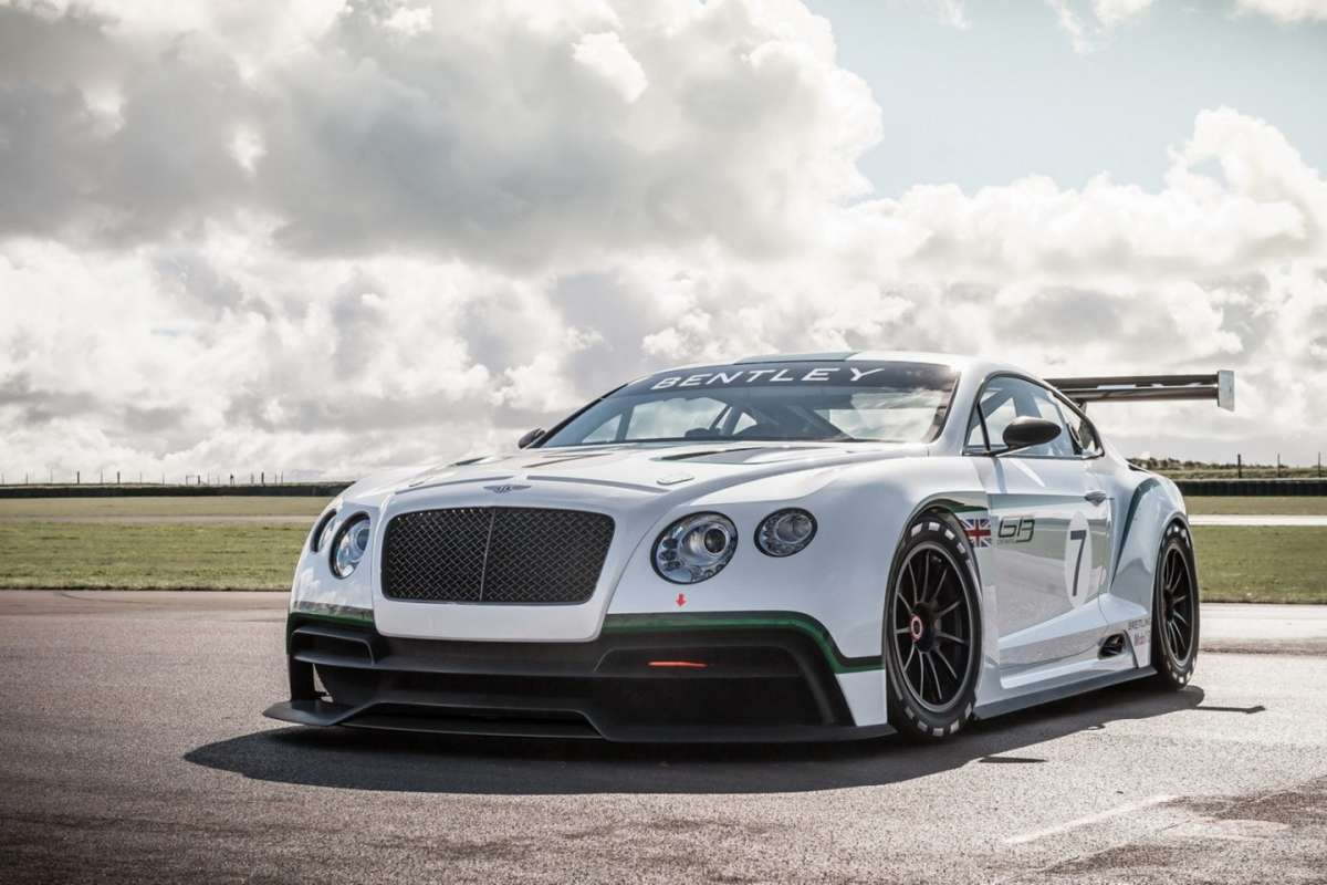 Bentley Continental GT3 Concept - frontale