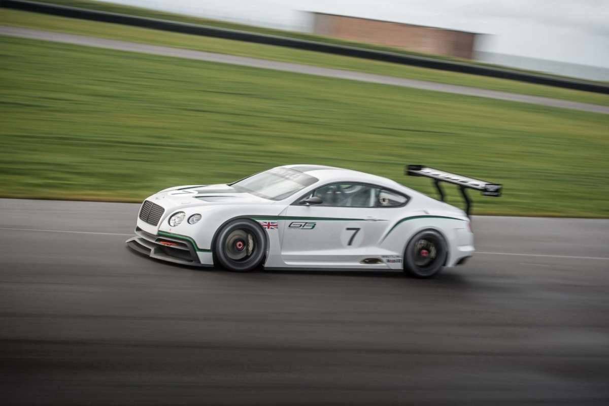 Bentley Continental GT3 Concept - laterale