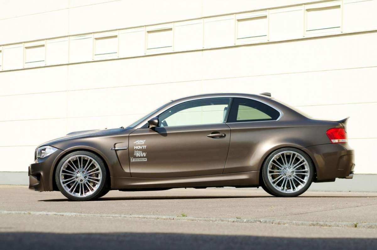 BMW Serie 1 Coupè tuning by G-Power fiancata