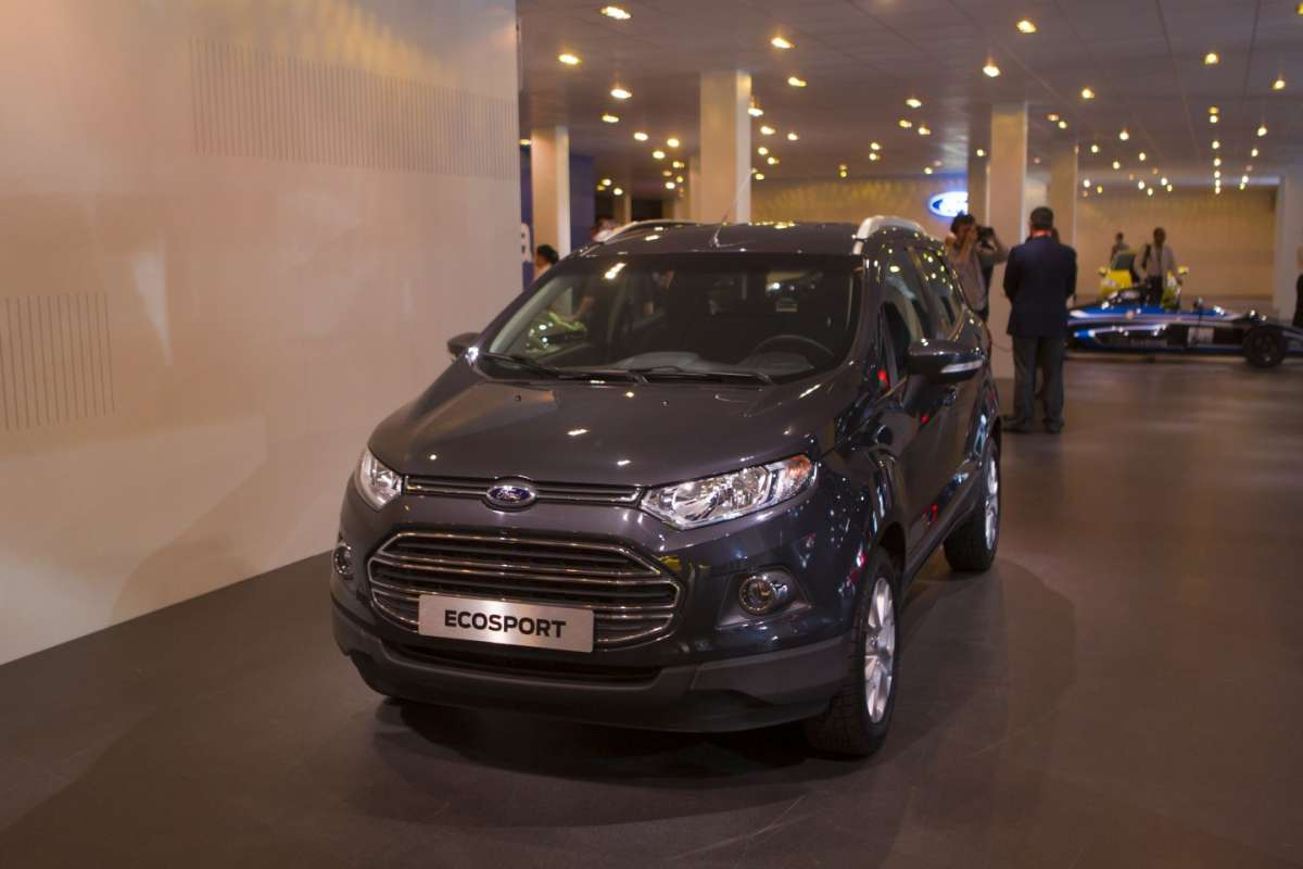 Ford EcoSport-Go Further-frontale