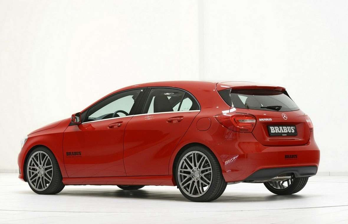Mercedes Classe A 2012 by Brabus-3/4 posteriore