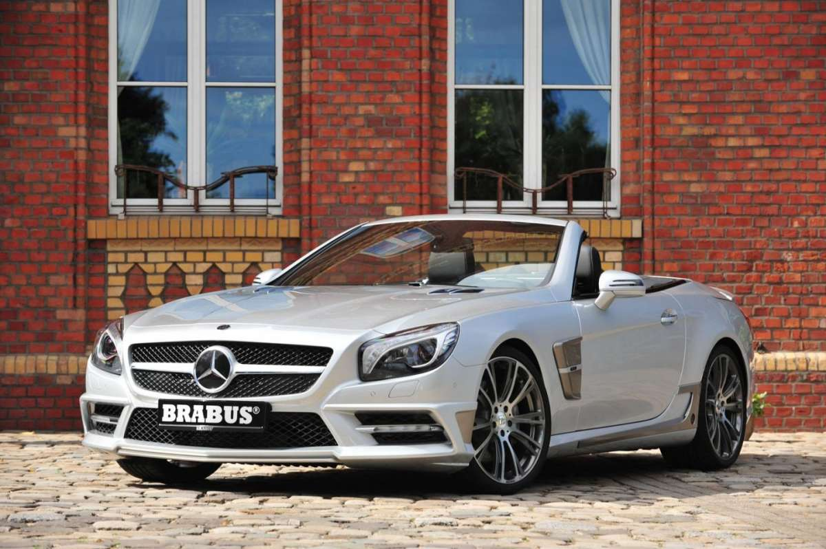 Mercedes SL by Brabus 2013-vista frontale
