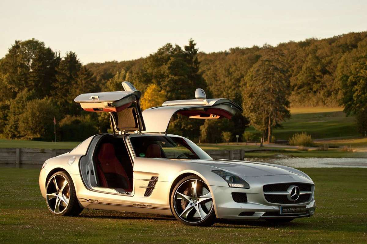 Mercedes SLS AMG MC700 by McChip anteriore