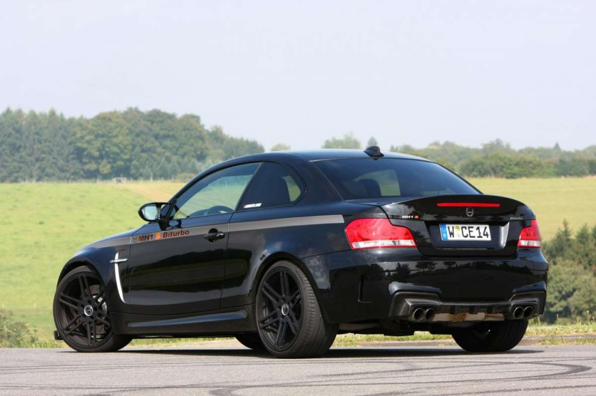 Bmw Serie 1 M by Manhart MH1 S Biturbo laterale posteriore