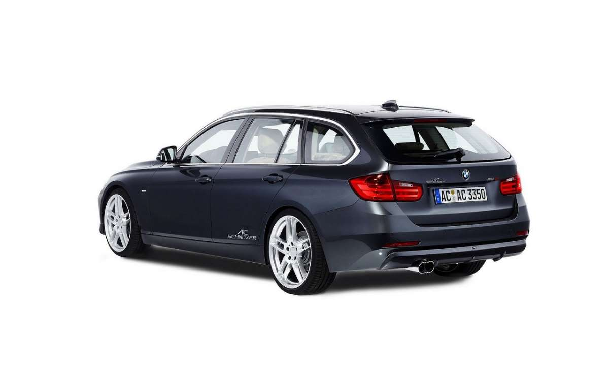 Bmw Serie 3 Touring by AC Schnitzer laterale posteriore