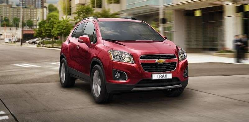 Chevrolet Trax frontale