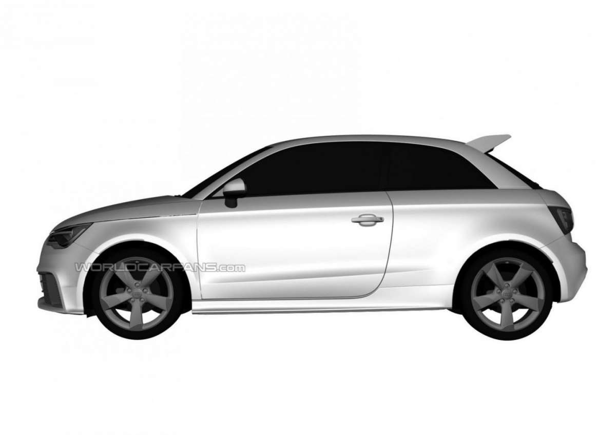 Audi RS1 laterale