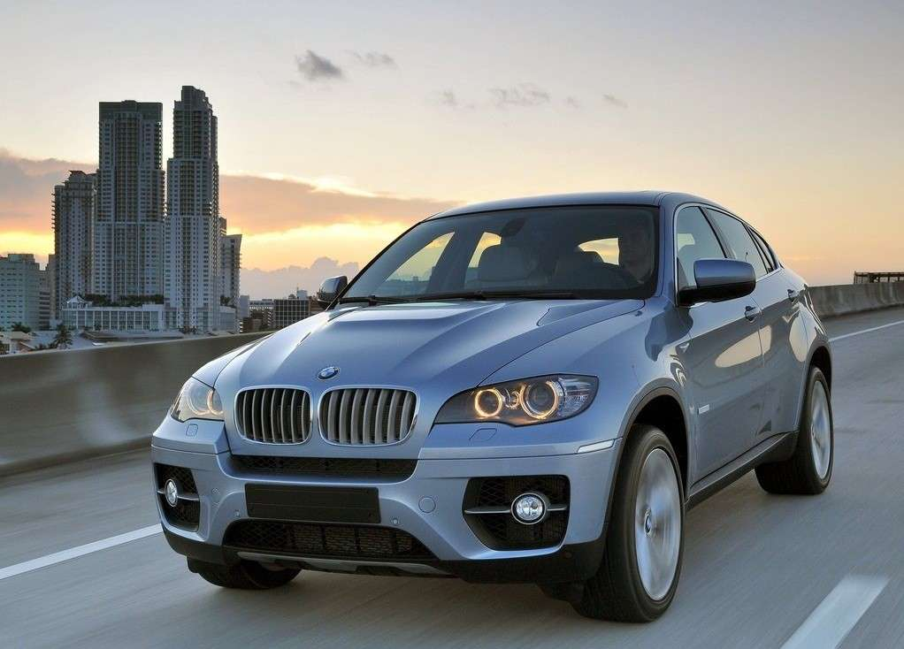 Bmw Active Hybrid X6, frontale
