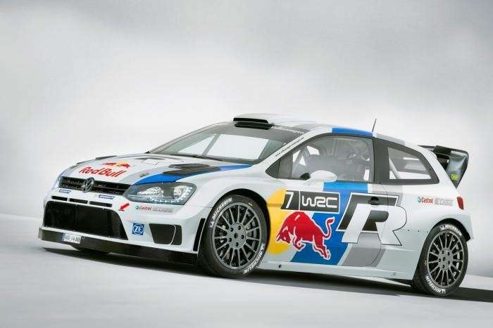 Volkswagen Polo R WRC rally