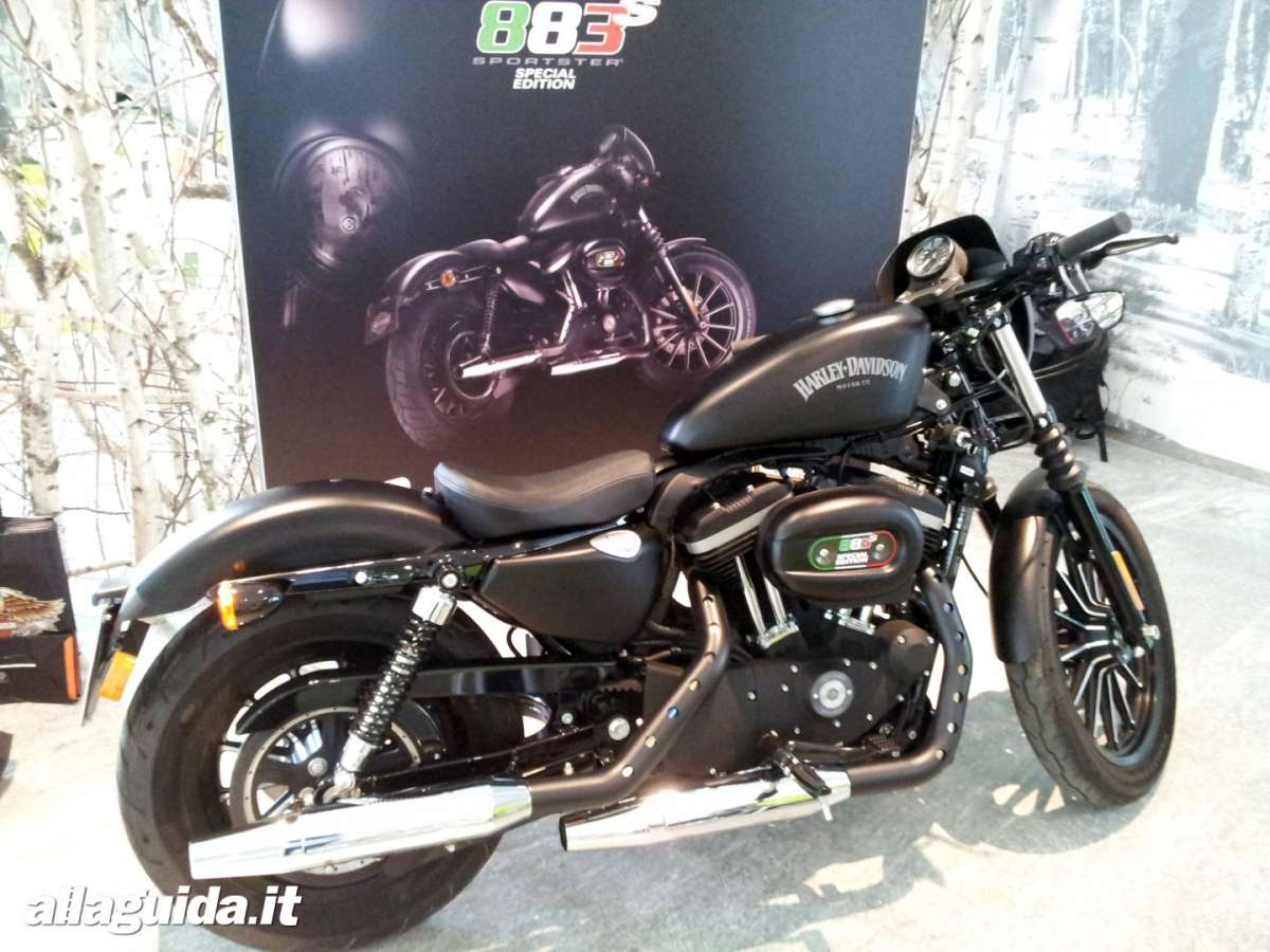 La nuova  Harley-Davidson Sportster Iron 883 Special Edition S