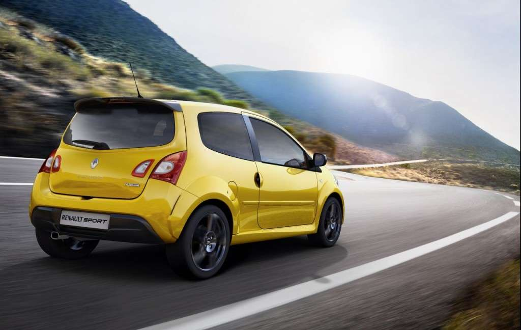 Renault Twingo RS 2012 posteriore