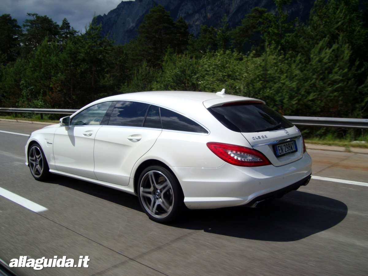 Mercedes CLS 63 AMG Performance Shooting Brake
