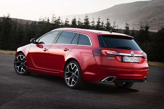 Restyling dell'Insignia OPC
