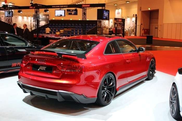 Audi RS5-R Abt, posteriore