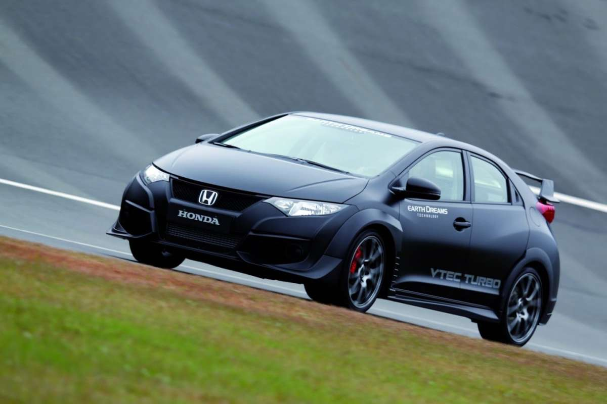 Frontale Civic Type R