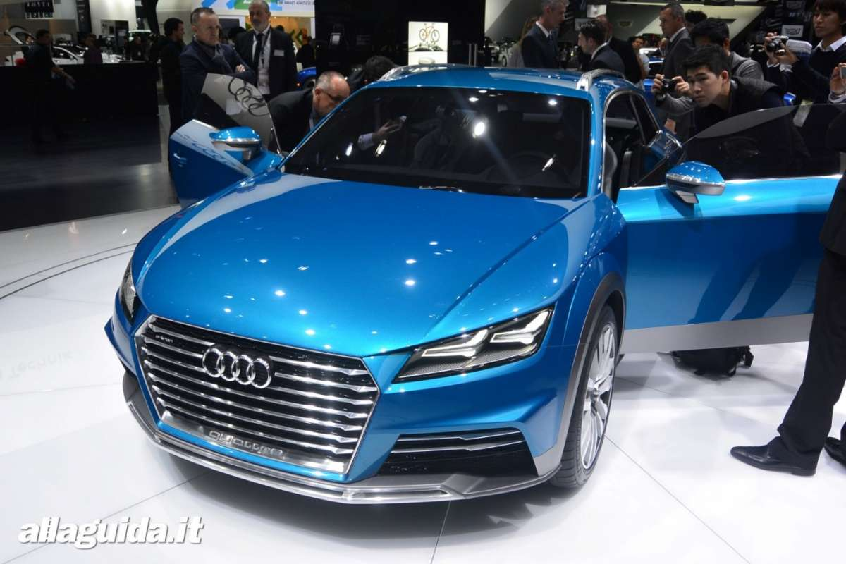 Audi Allroad Shooting brake concept, Salone di Detroit 2014 - 02