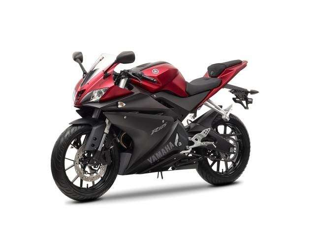 Yamaha YZF-R125 Anodized Red
