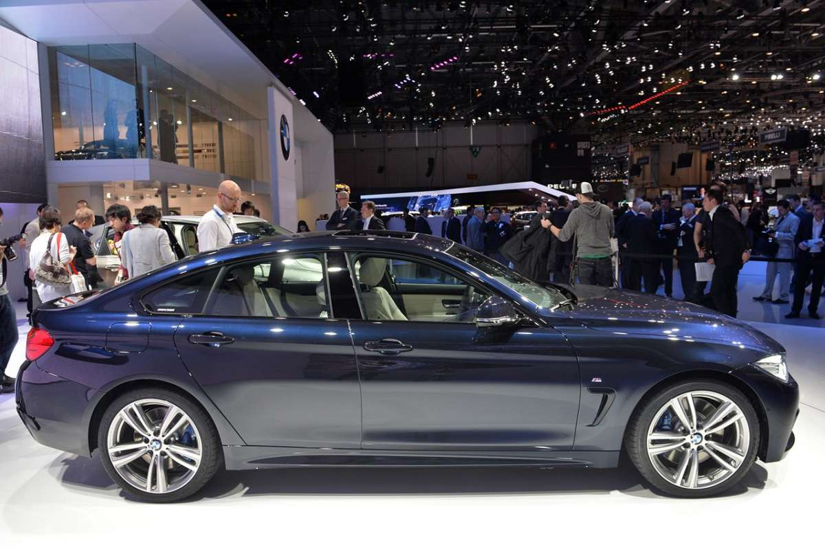 BMW Serie 4 Gran Coupé dal vivo