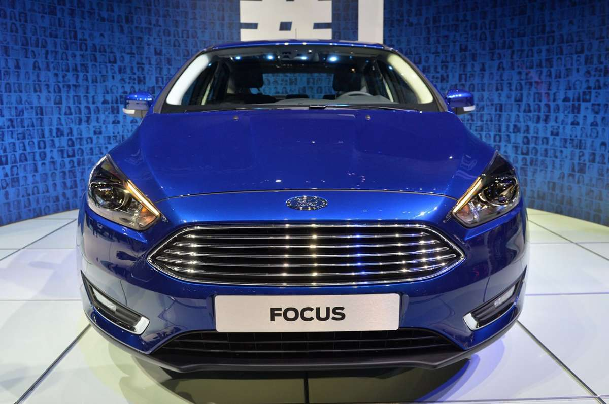 Ford Focus 2014 frontale