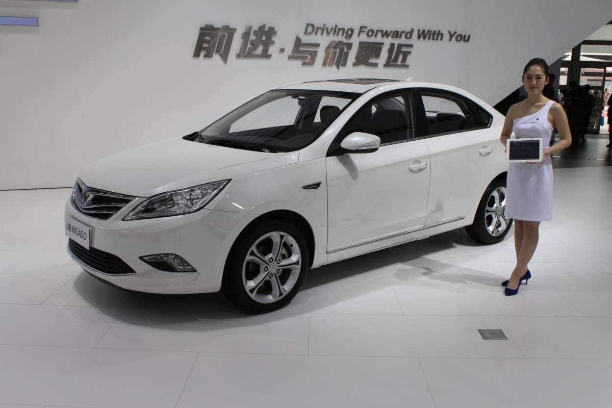 Changan Eado al Salone di Pechino 2014 -2