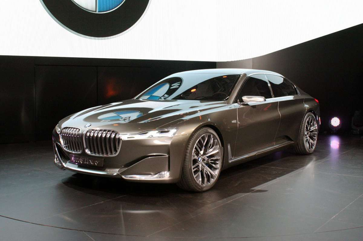 Frontale BMW Vision Future Luxury Concept
