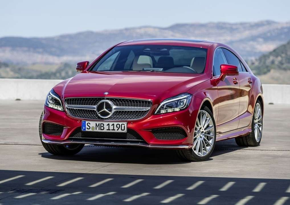 Mercedes CLS restyling