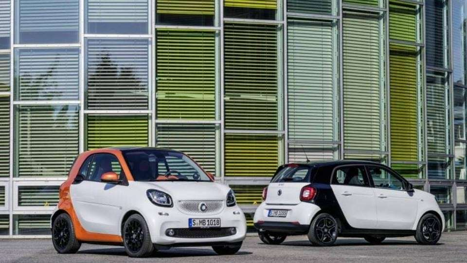 Nuova Smart Fortwo e Forfour