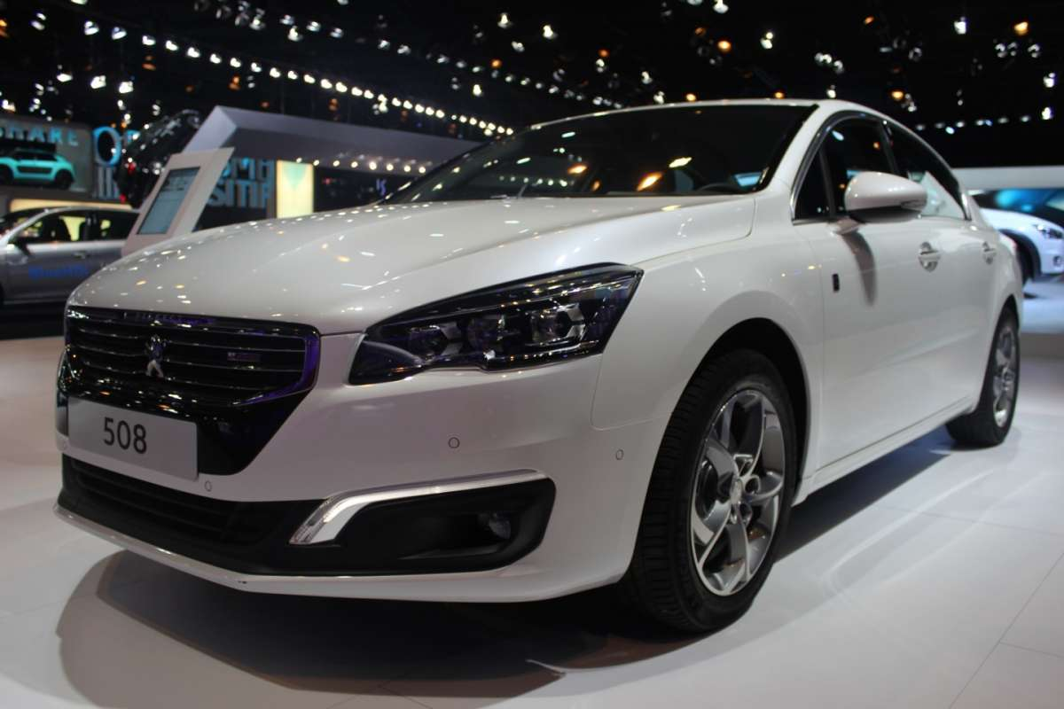 Peugeot 508 frontale