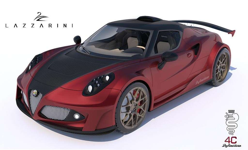 Alfa Romeo 4C tuning by Lazzarini Design