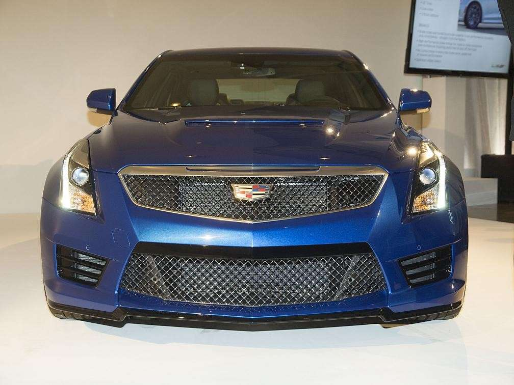 Cadillac ATS, Salone Los Angeles 2014 (1)