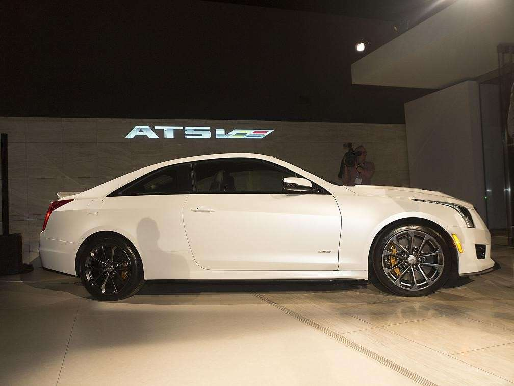 Cadillac ATS Coupe, Salone Los Angeles