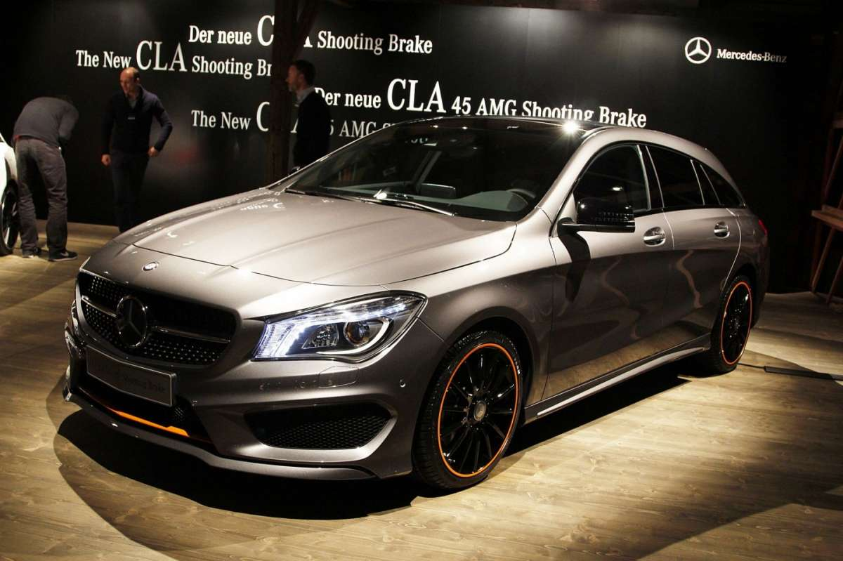 Nuova Mercedes CLA Shooting Brake