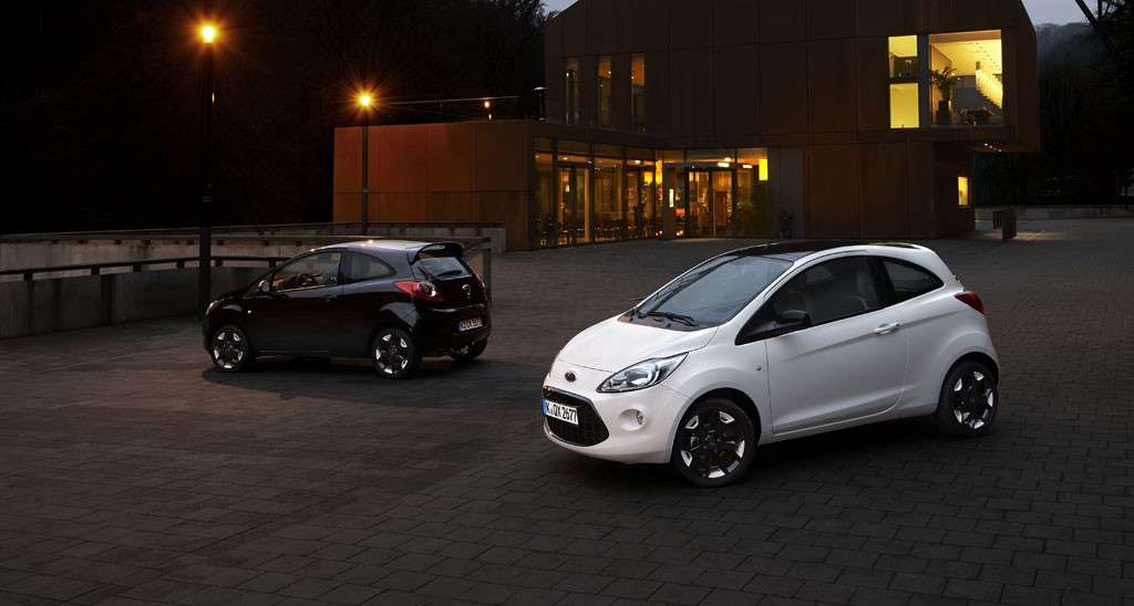 Ford Fiesta e Ford Ka Black and White Editions