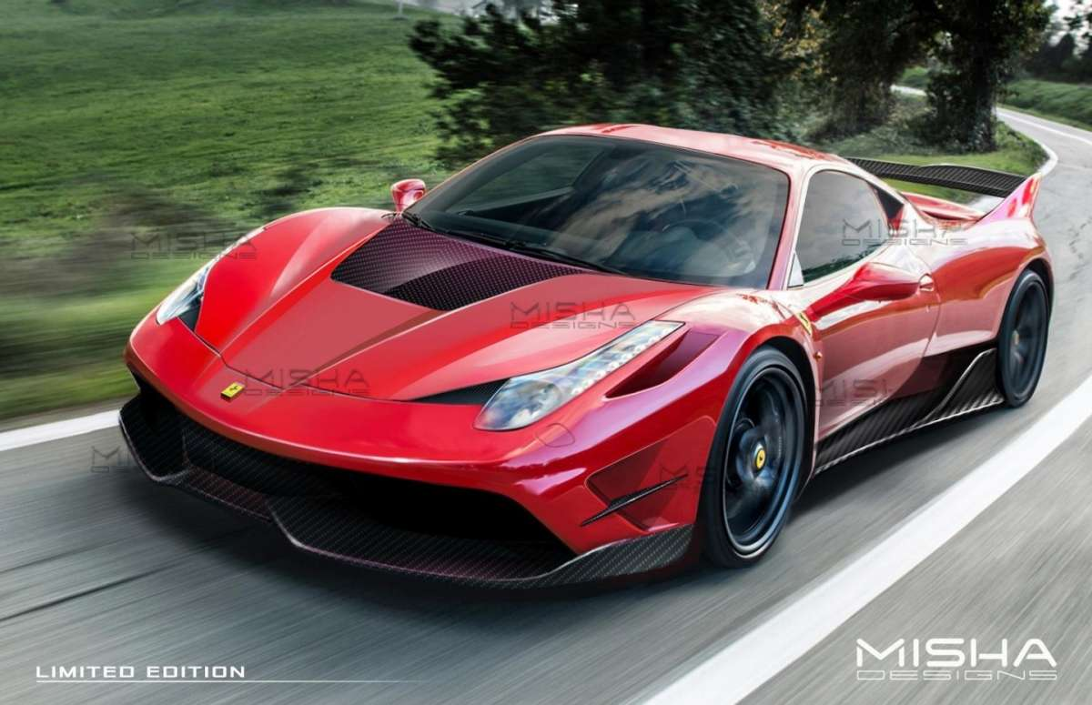 Ferrari 458 Italia Misha Design Limited Edition