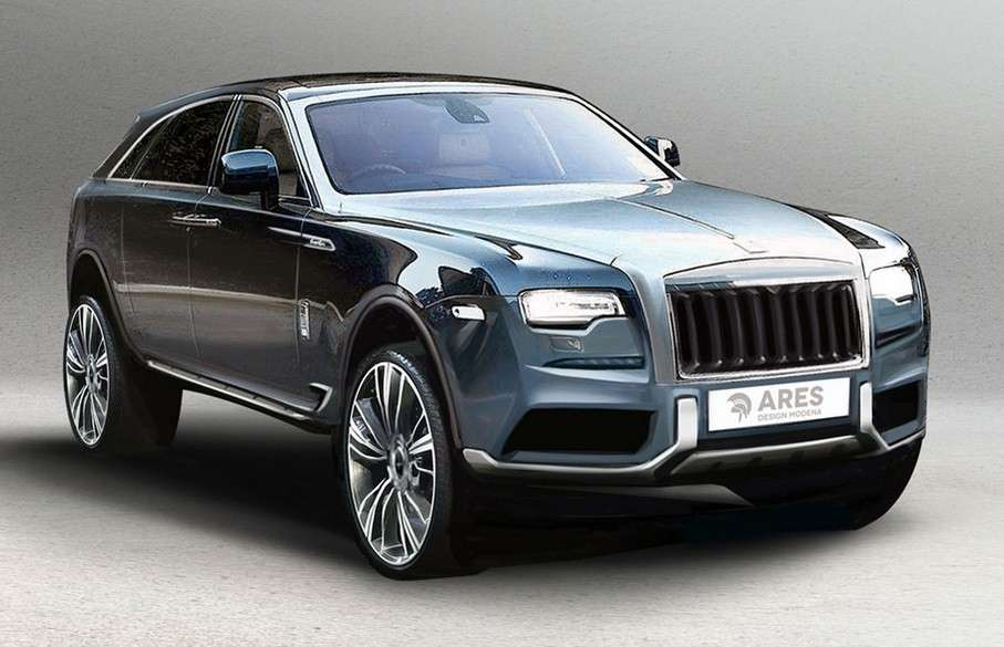 Ares Rolls Royce suv concept