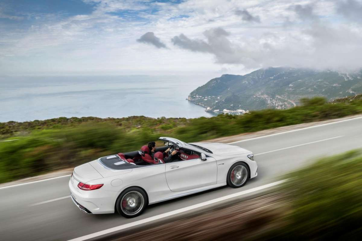 Mercedes Classe S Cabriolet 2015