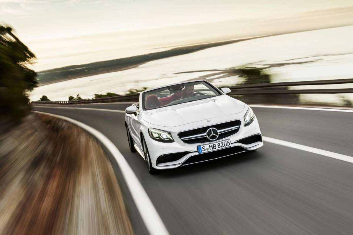 Mercedes Classe S Cabriolet frontale